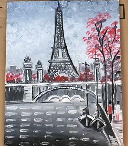Eiffel Tower paris Oil Painting
