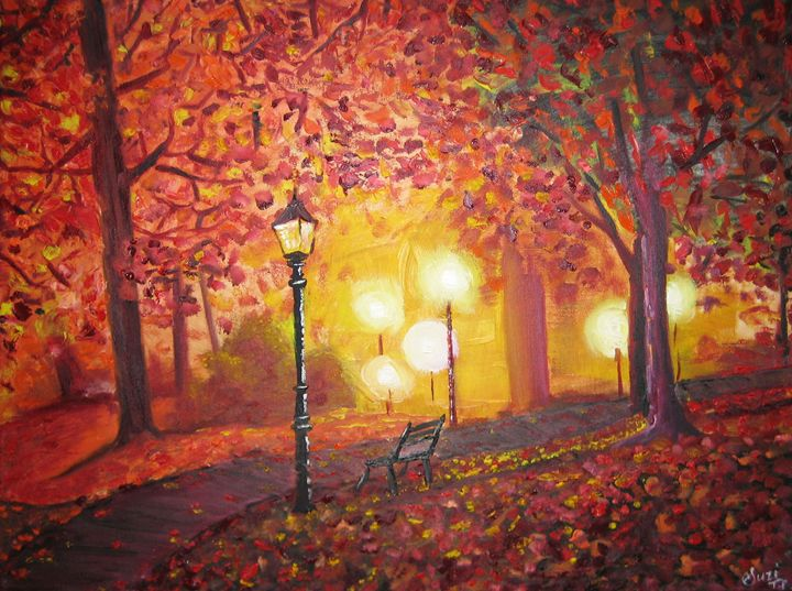 Dream Autumn - Suzi Fine Art