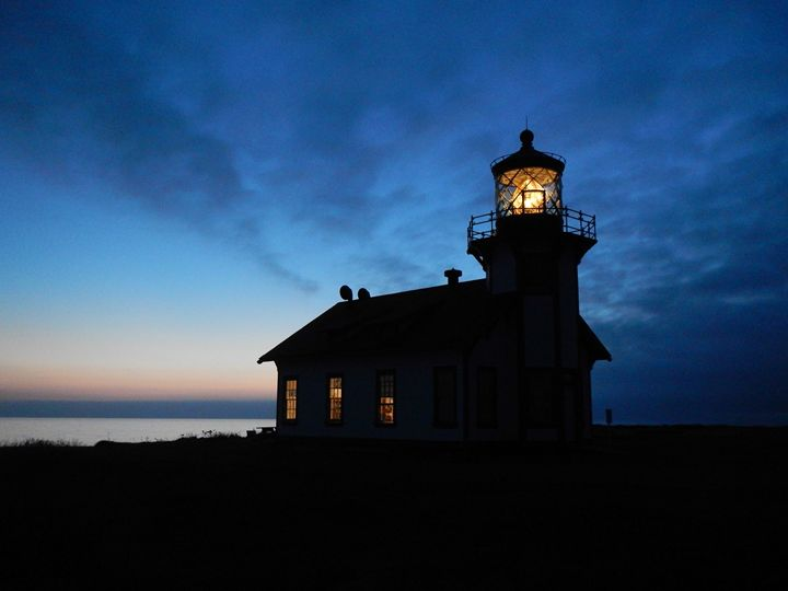 Point Cabrillo Lighthouse - C.S. Wright Photography