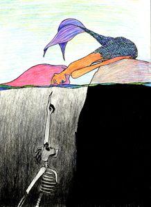Mermaid and the Skeleton #2