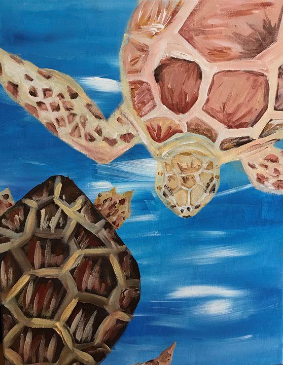 Turtles - CAM art