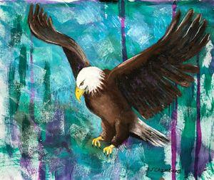 EAGLE ON THE HUNT