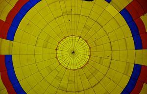Inside an air balloon - Anahi Clemens
