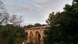 Evening train, Fredericksburg VA