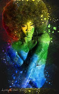 Colorful Ebony