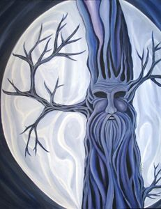 Man in the Moon Tree