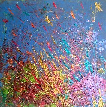 original abstract painting - Adiel