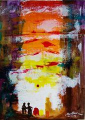 Santosh Mane Paintings