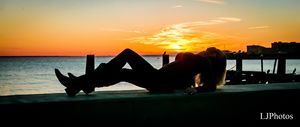 Sunset at Fort Monroe