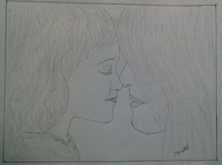 cute pencil sketch -  Patiludayram