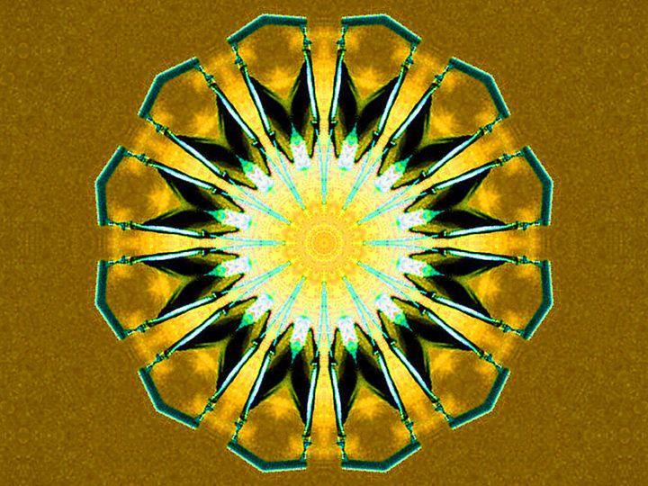 Yellow Diamond - Museum of A Lot of Art MOLOA