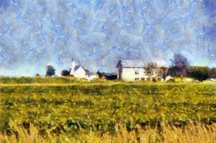 Hay Field 2 - Museum of A Lot of Art MOLOA
