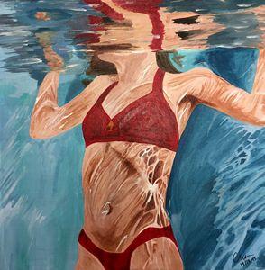 Under Water Women
