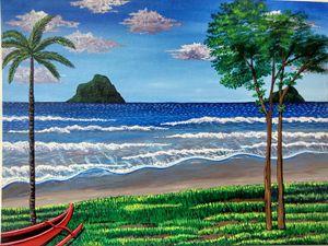 """""""A beach view""""."""