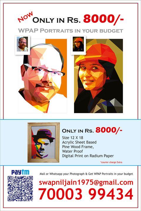 WPAP Portraits - WPAP Portraits
