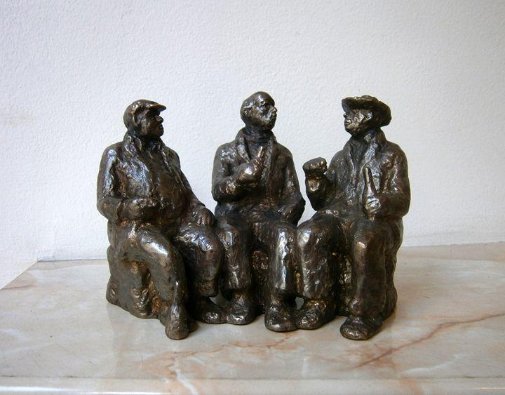 Three friends - Miniature Gallery