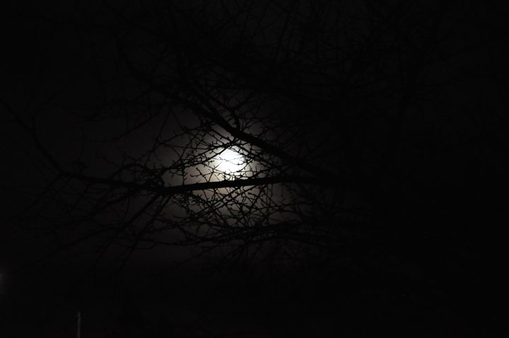 Moon Behind the Clouds - the3rdsense