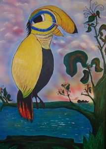 Toucan by the Ocean