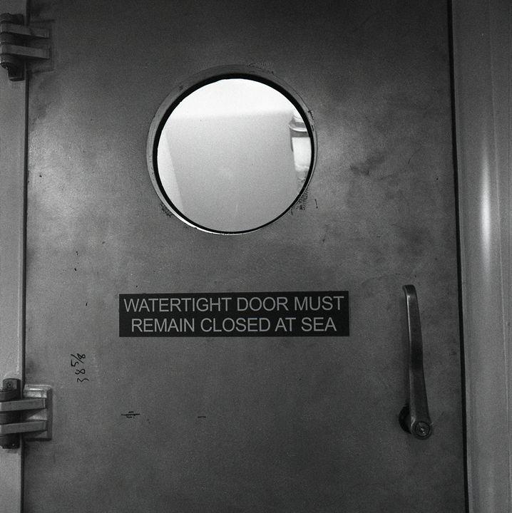 Watertight Door - Lucia Rollow Photography