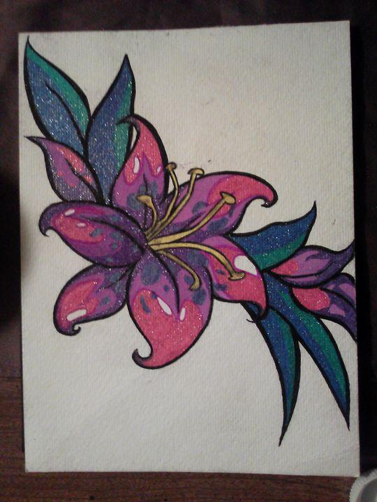 flower - Clint art work