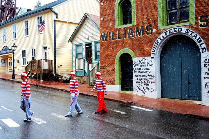 Found Waldo in Central City - John McEvoy Photographer