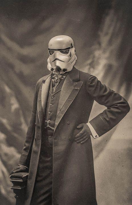 Portrait de stormtrooper - Tony Leone