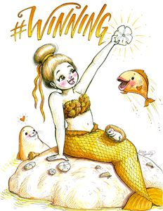 #WINNING - Alicia Young Art