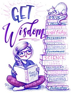 Get Wisdom - Alicia Young Art