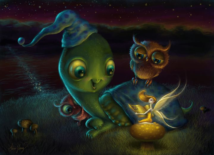 Fairy Tale - Alicia Young Art