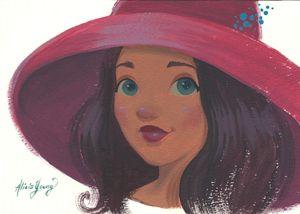 Pink Shade - Alicia Young Art