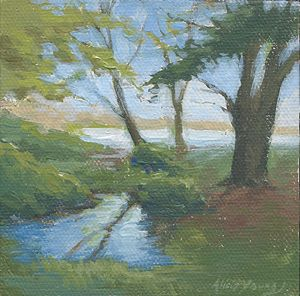 Miniature Fairy Landscape - Alicia Young Art