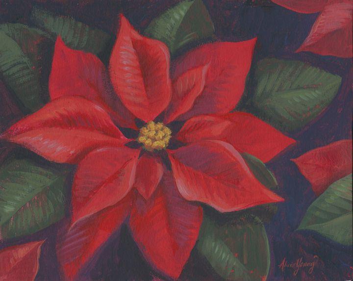 Crimson Beauty - Alicia Young Art