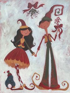 Mistletoe! - Alicia Young Art