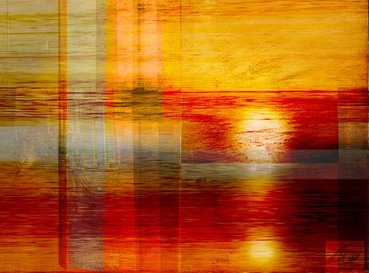 Setting Sun - artsurrealbyCW ltd
