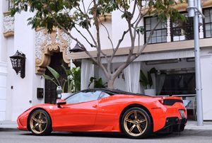 Ferrari 458 Speciale on Rodeo Drive
