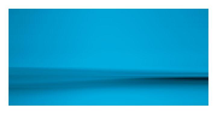 Zen Ocean in Morning Mist Blue - G Photo Fine Art