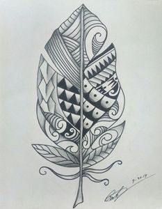 Polynesian Feather