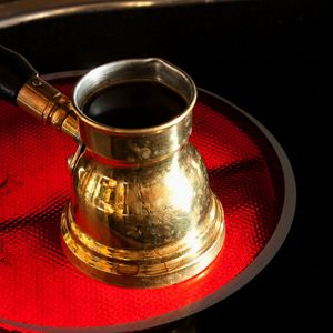 Arab coffee pot