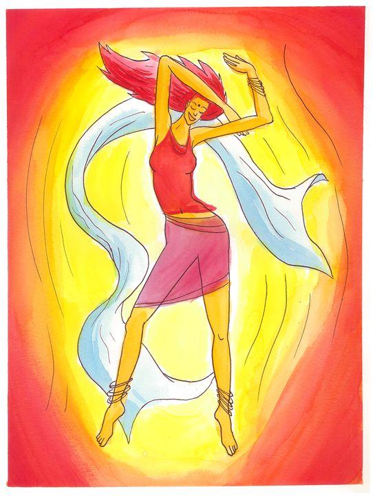 Goddess dance 01 - Tomek Nowik