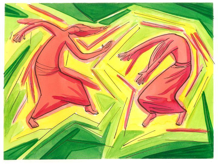 Dance yourself free 01 - Tomek Nowik