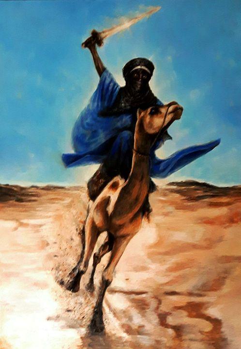 The Desert Warrior - Black Meridians