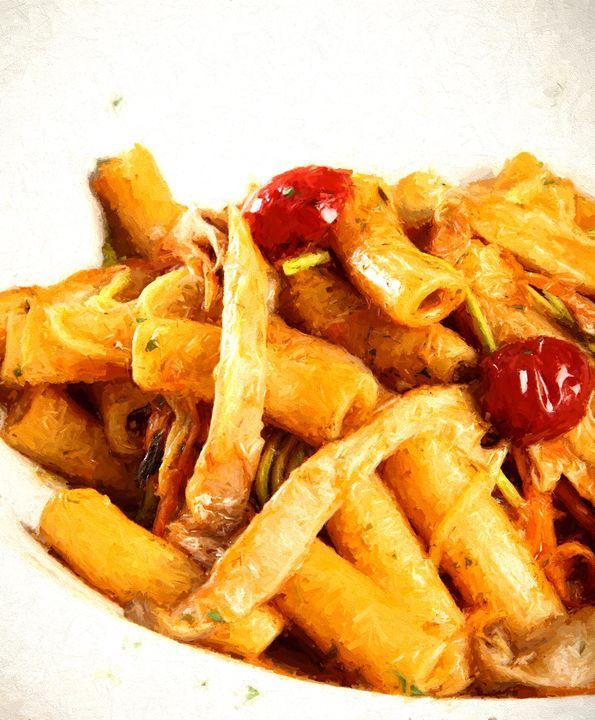 Fresh pasta with tomatoes -  Robertogiobbi