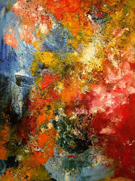 Color Symphony - wimvandewege paintings