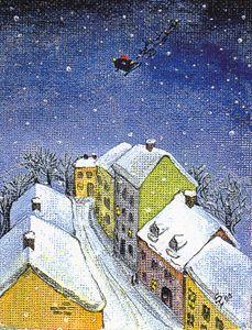 Flyaway Santa