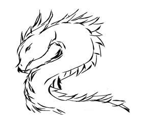 1 minute Dragon