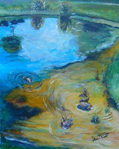 Duck Pond N. Wickham Park