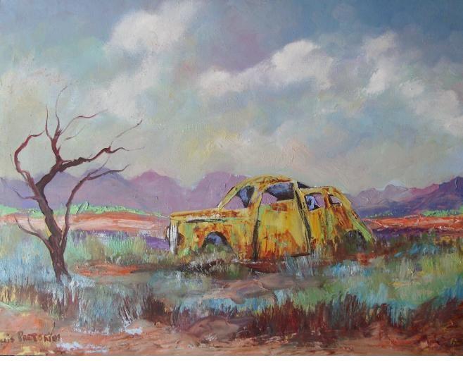 This is no yellow Submarine - Louis Pretorius art