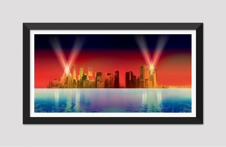 NY Lights - Joseph Anthony New Media Art & Design