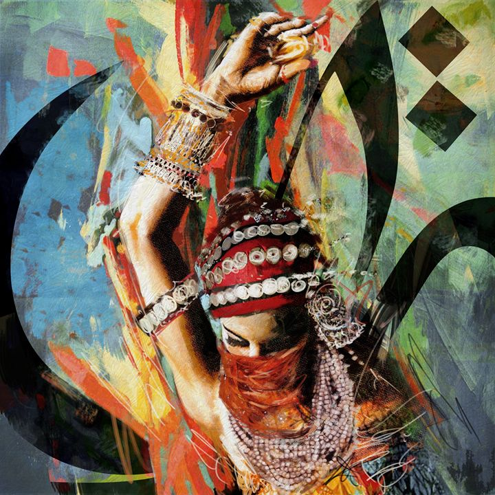 Tirbal Dancer 4 - Corporate Art Task Force