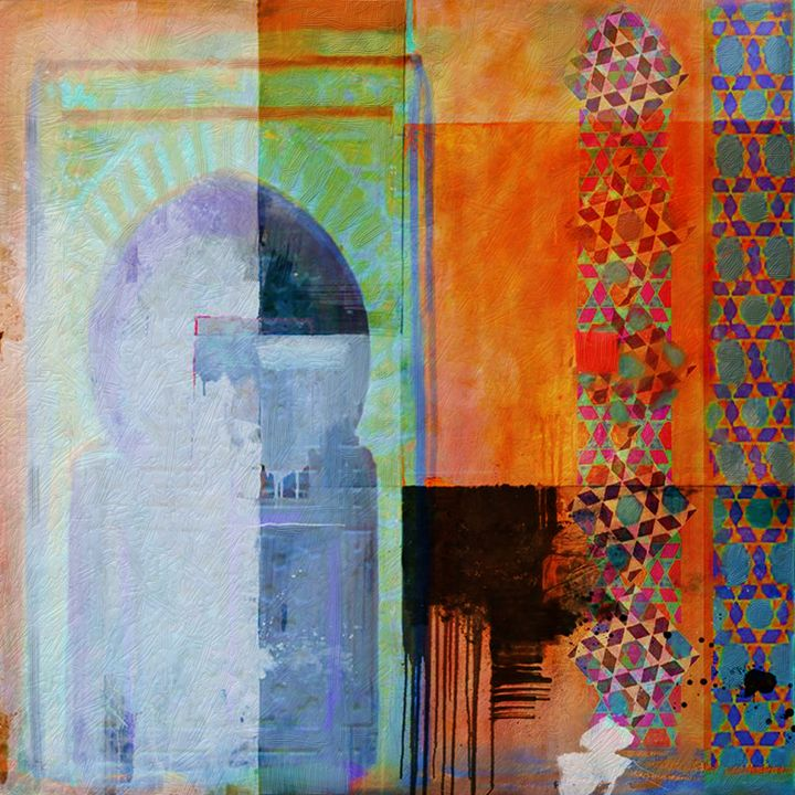Arabic Motifs 10 - Corporate Art Task Force